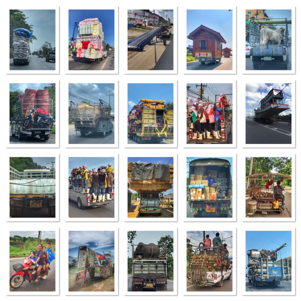 Pickup Autos, die eierlegende Wollmilchsau von Thailand