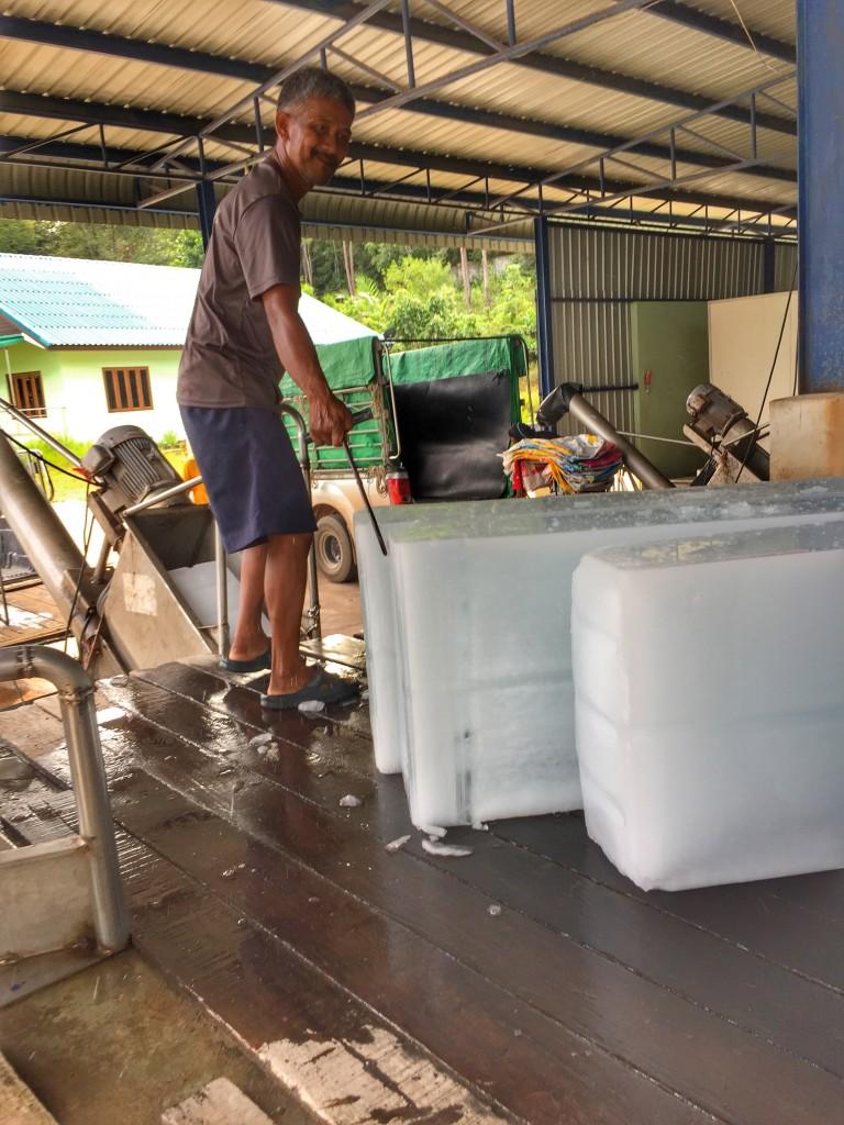 Eisfabrik für Schifffahrt und Transportkühlung Chumphon