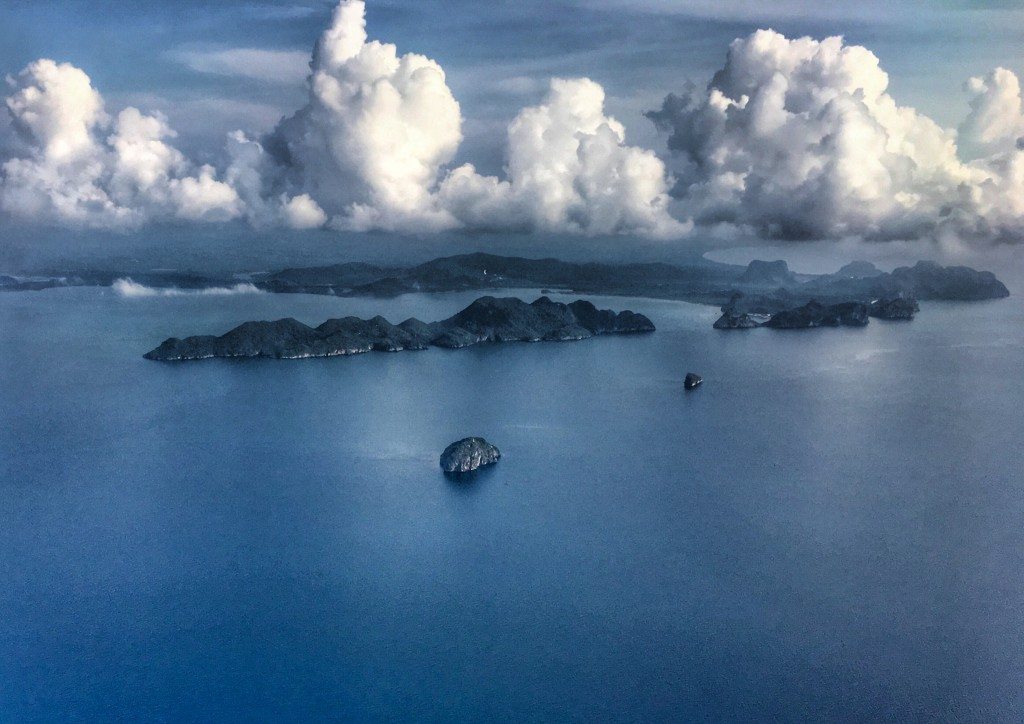 Landeanflug nach Chumphon Thailand