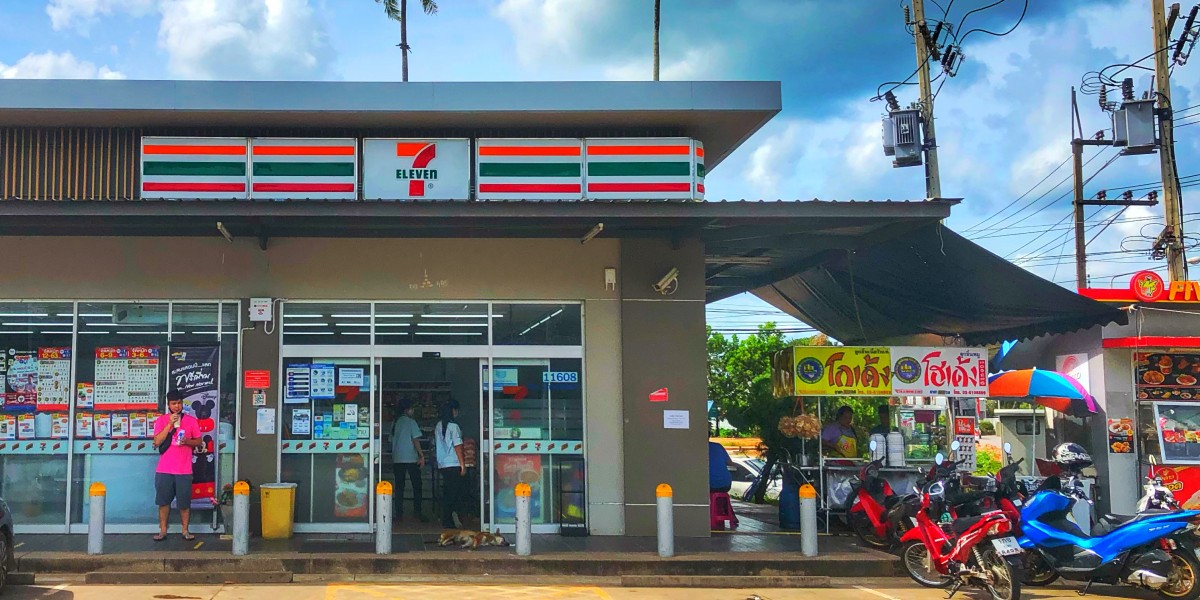 7-Eleven Laden in Pak Naam, Chumphon Thailand