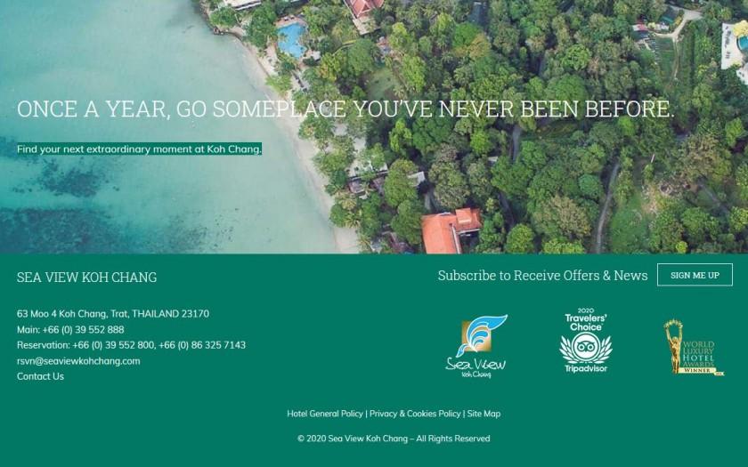 Sea View Koh Chang abgeblich schlechte Bewertung