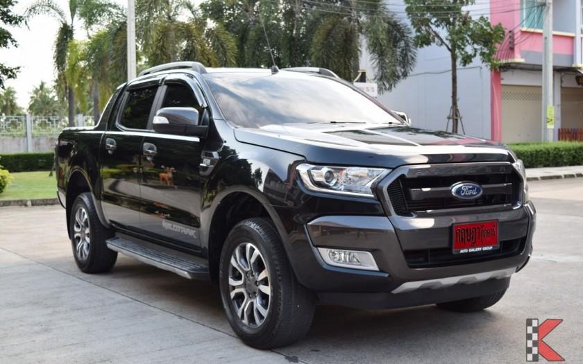 Ford Ranger Wildtack 4 sitzer allrad Chumphon Thailand