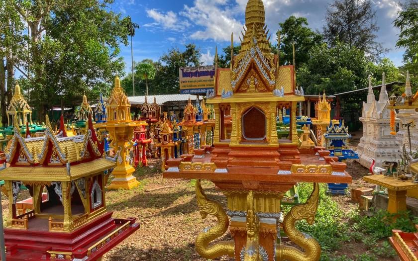 thailändisches Geisterhaus, Geister in Chumphon Thailand