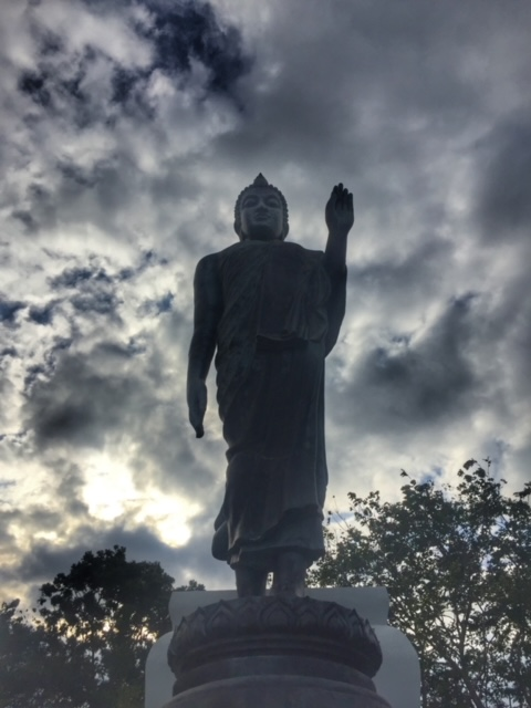 Buddha in Pak Naam, Chumphon Thailand