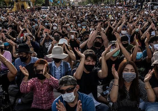Demonstration Thailand 1
