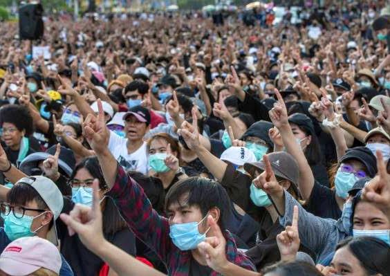 Demonstration Thailand 2