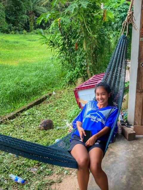 Hängematte 2 in Chumphon Thailand