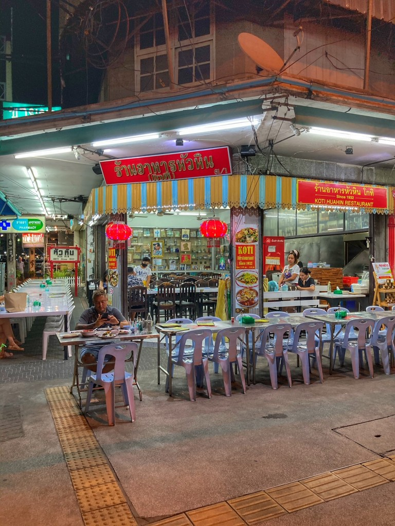 Hua Hin Koti Restaurant Thailand