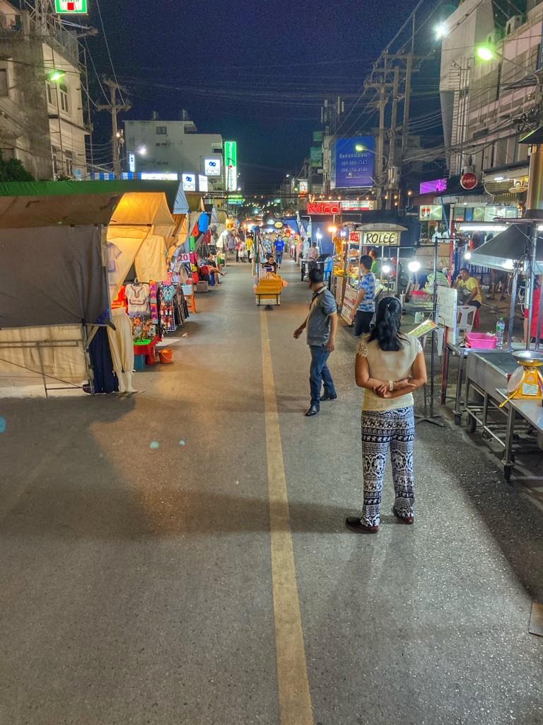 Hua Hin Nachtmarkt 1 Thailand