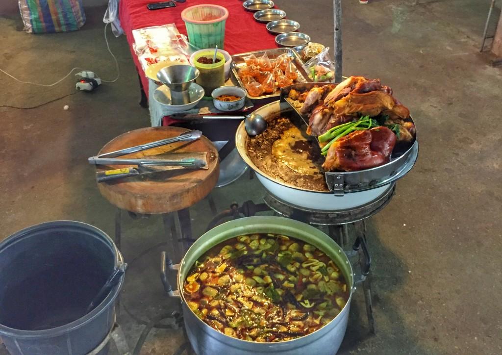 Markt in Chumphon, Thailand 4
