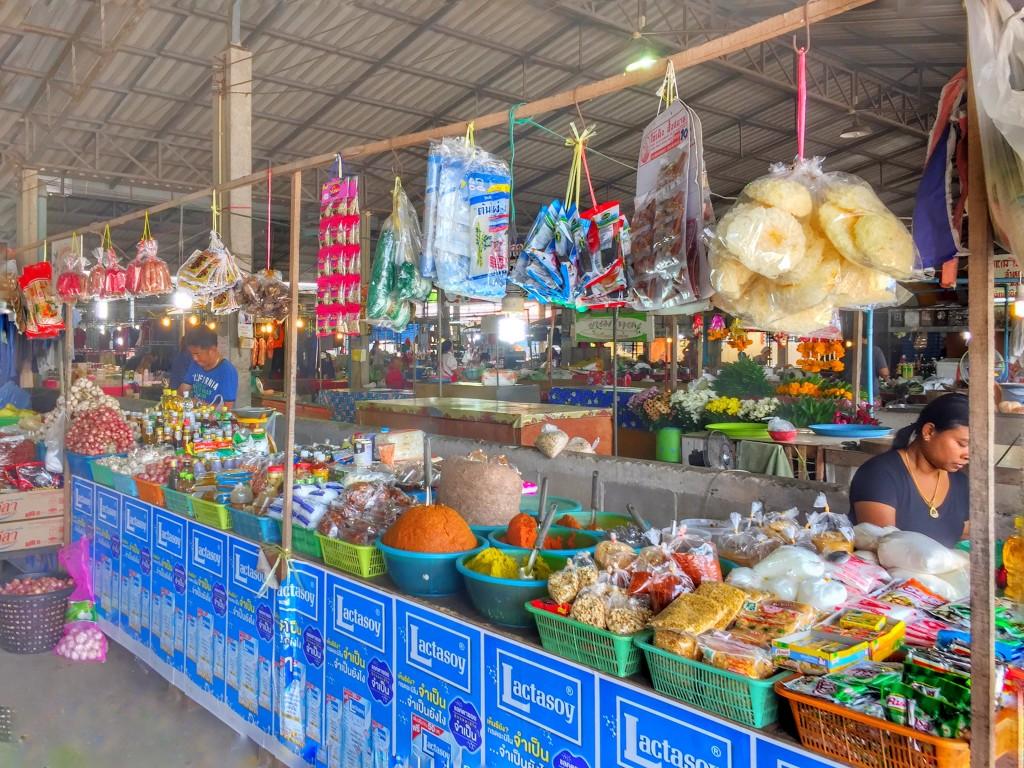 Markt in Chumphon, Thailand 3