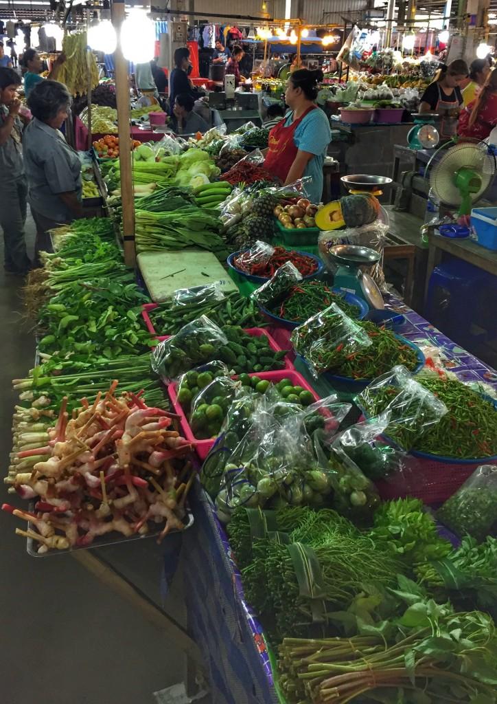 Markt in Chumphon Thailand 2