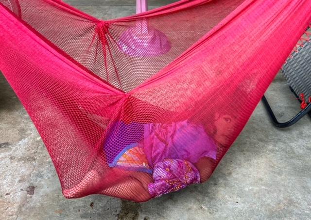 Mädchen Hängematte Thailand