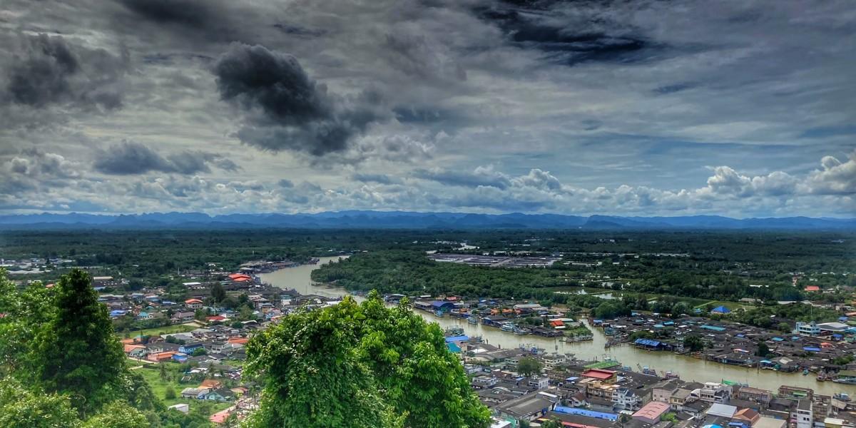 Pak Naam Hafen Chumphon Thailand