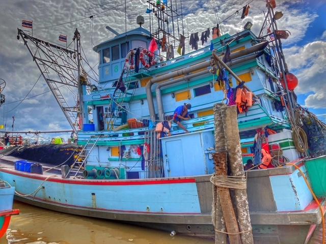 Fischerboot Pak Naam, Chumphon, Thailand