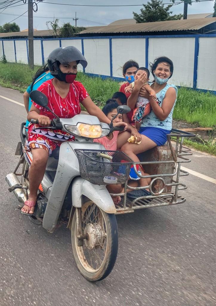 Saläng mit 10 in Chumphon Thailand