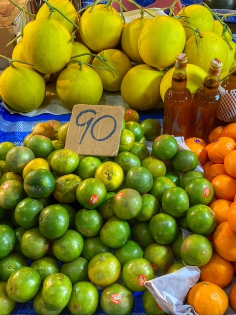 Markt in Chumphon 12, Thailand