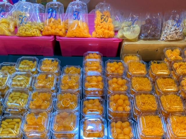 Markt in Chumphon 14, Thailand