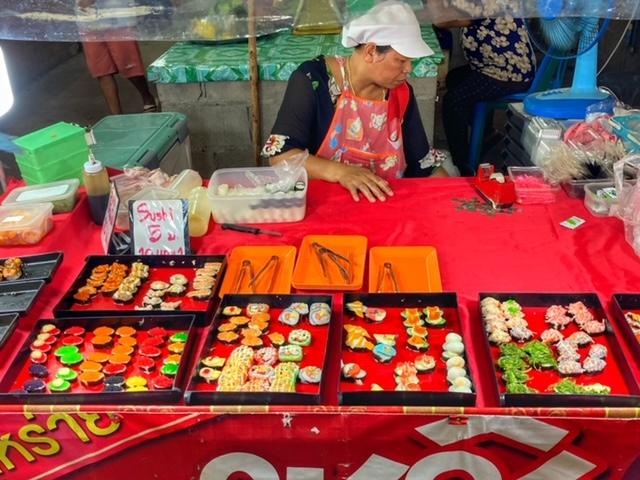 Markt in Chumphon 17, Thailand