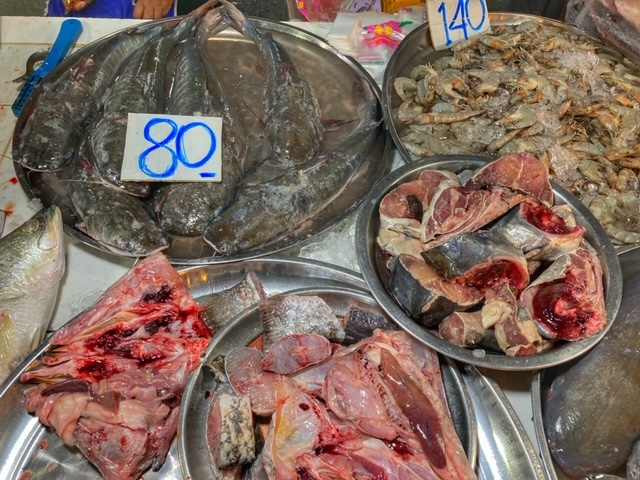 Markt in Chumphon 18, Thailand