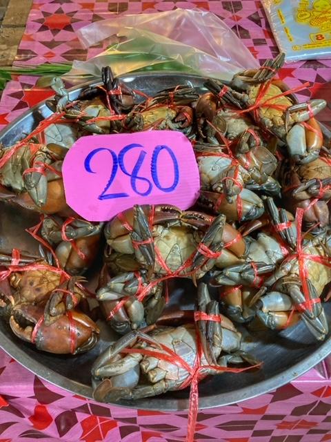 Markt in Chumphon 19, Thailand
