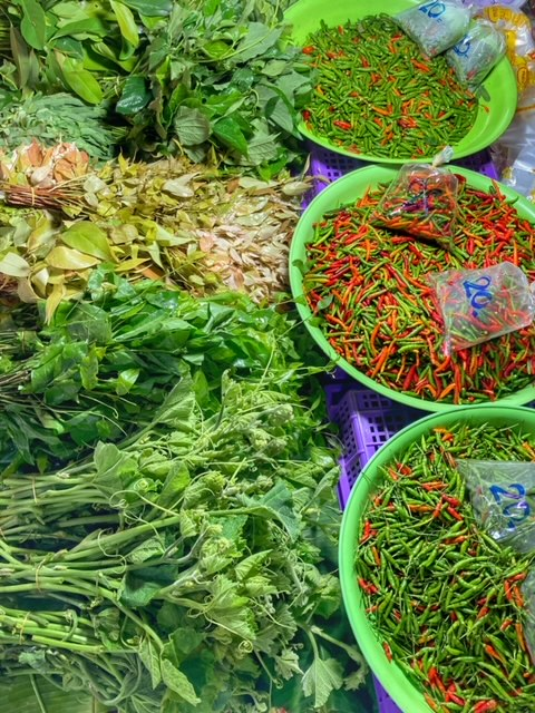 Markt in Chumphon 21, Thailand