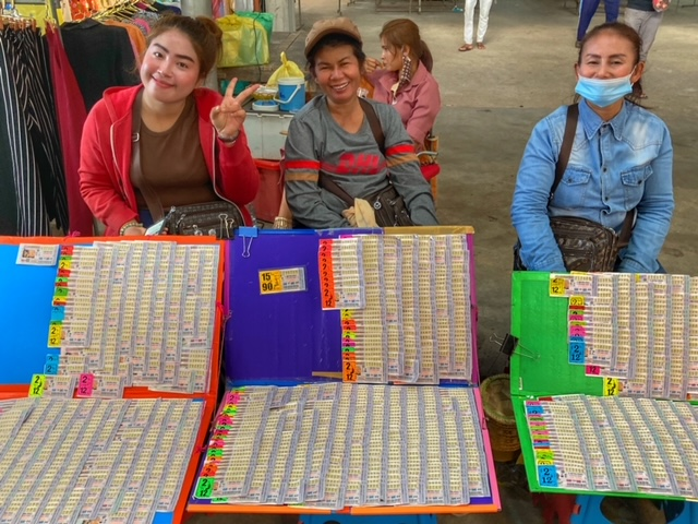 Markt in Chumphon 25, Thailand