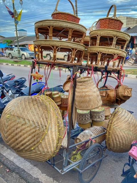 Markt in Chumphon 28, Thailand