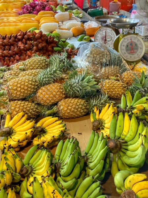 Markt in Chumphon 37, Thailand
