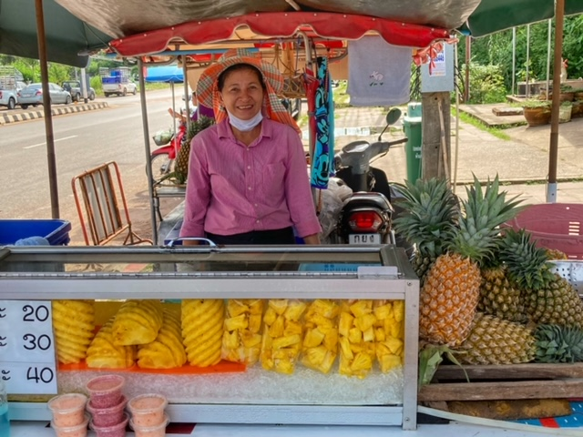 Markt in Chumphon 55, Thailand
