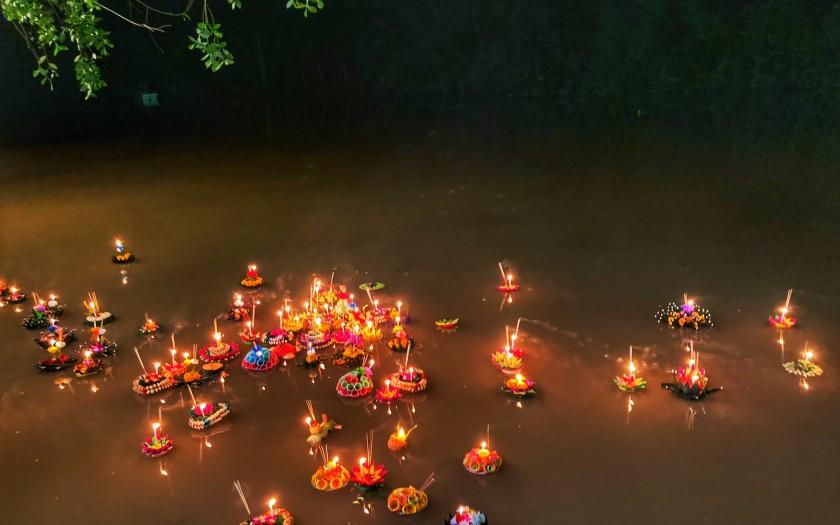 Loi Krathong Chumphon Thailand