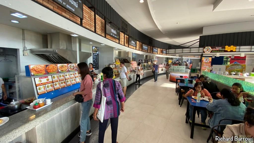 Tankstelle Food Court Thailand