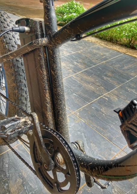 Schlammschlacht Fahrradtour Chumphon Ranong