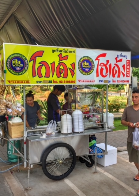 Soloselbständig Nudelsuppe Chumphon Thailand
