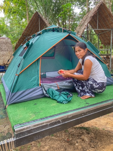 Camping in Chumphon Thailand 6