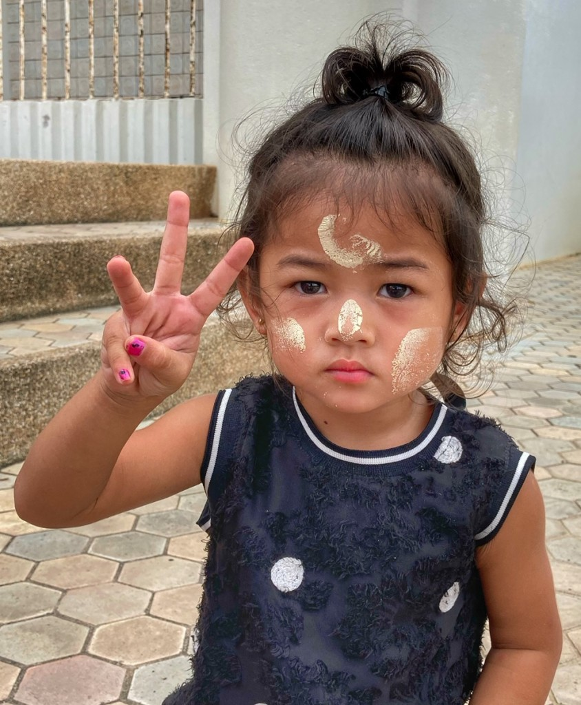Chumphon Pak Naam Mädchen Myanmar