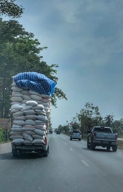 Straßenverkehr Thailand Pickup