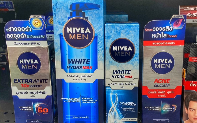 weiße Haut Thailand Nivea Creme