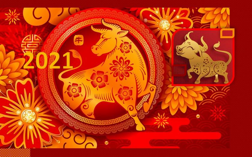 Chinesisches Neujahr 2021 Feierlichkeiten in Thailand