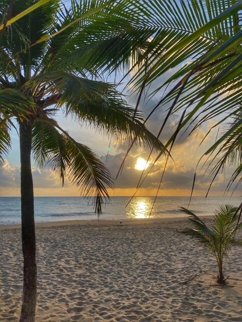 Sonnenaufgang in Khanom Thailand