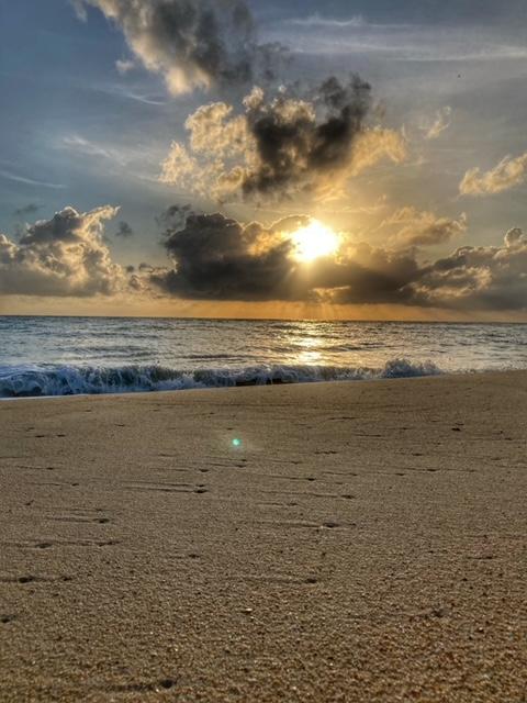 Sonnenaufgang Khanom Thailand