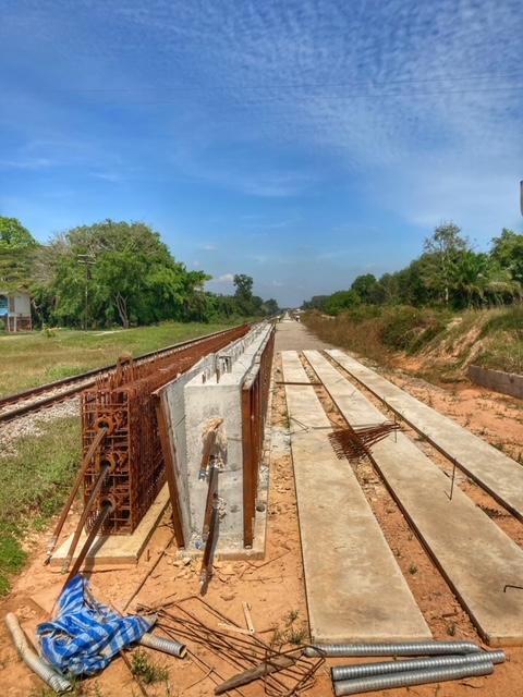 300 km neues Schienennetz Chumphon