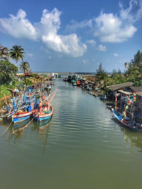 Kanaleinfahrt Chumphon Thailand