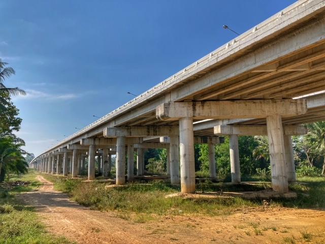 Infrastruktur Thailand, Straßenbau, neue Autobahn Chumphon
