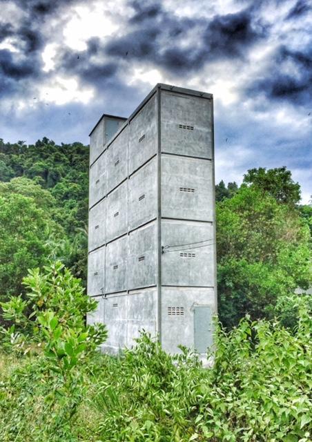 Schwalbenhaus für Schwalbennester Chumphon, Thailand