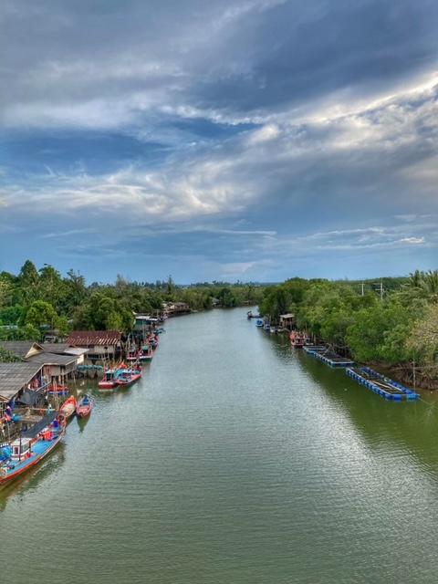 tausendmal fotographiert, Sehenswürdigkeit Kanaleinfahrt Chumphon Thailand