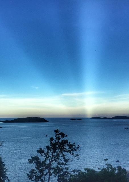 Insel Chumphon Sonnenuntergang Thailand