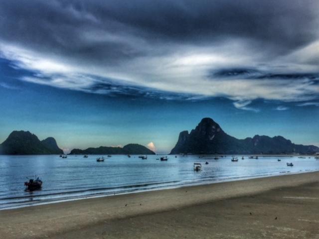 Inselstimmung Abend Thailand
