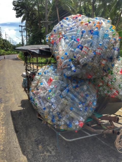 Plastikflaschen Recycling