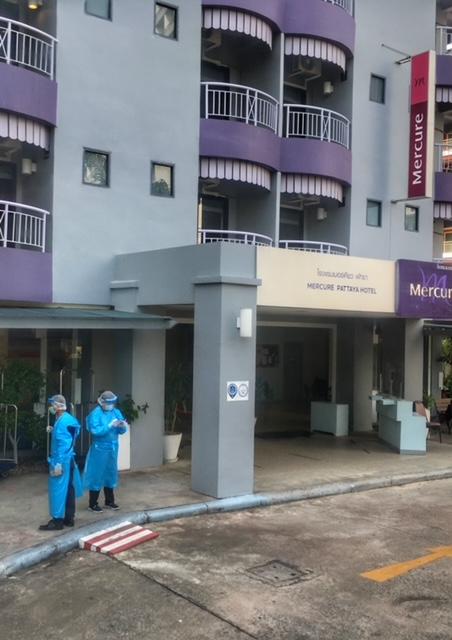 Quarantäne Ankunft Pattaya